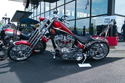 All American Harley Davidson Open House & Bike and Car Show