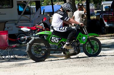 Dirt Drag Racing at Green's Raceway