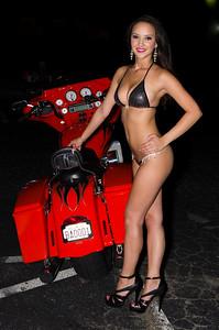 Natasha at  Bike Night