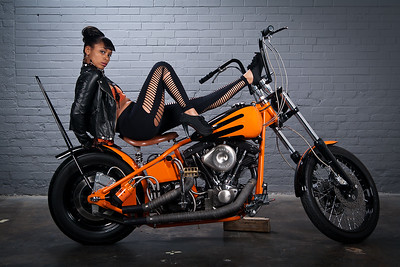 Harley shoot with Neicey