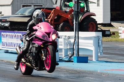 Richmond Dragway Bike Drags