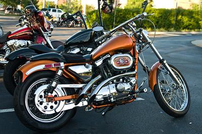 Bike Night at Richmond Quaker Steak & Lube 08-14-2013