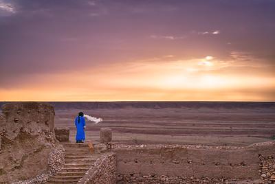 Ait Ben Haddou sunrise