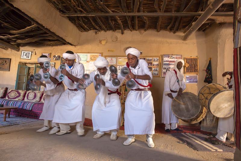 Ganawa Musiciana in Khamlia, Morocco