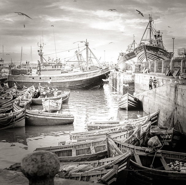 Fishing Boats in Essaouira
