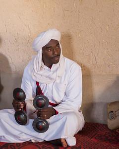 Ganawa Musician in Khamlia, Morocco