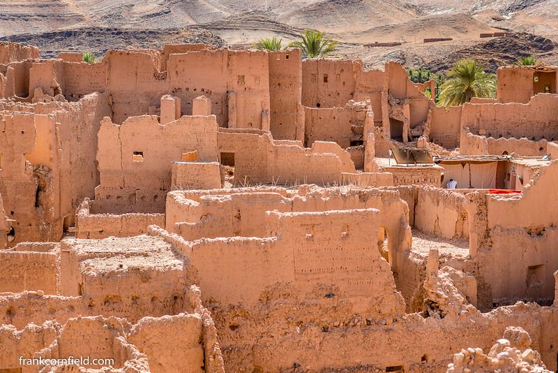 16th Century Kasbah Ruins in Tamnougalt