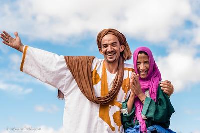 Mustapha and Aisha; Residents in Tamnougalt