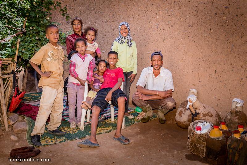 Family in Tamnougalt