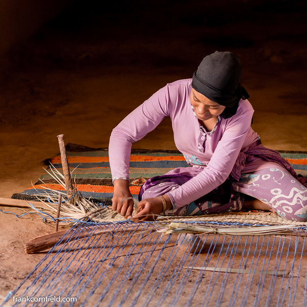 Carpet Weaving; Tamnougalt, Morocco