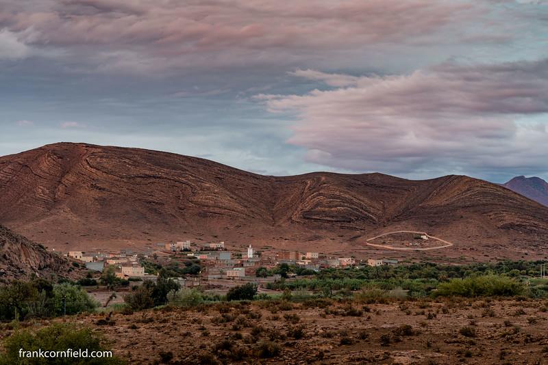 Village near Taliouine. | Photo Credits: Frank Cornfield Photography
