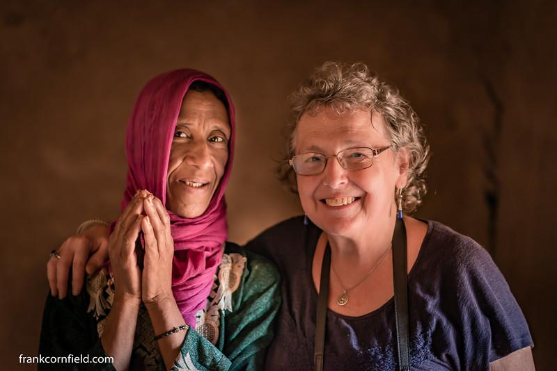 Aisha of Tamnougalt and Margaret Cornfield