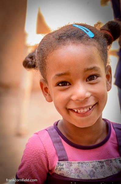 Child in Tamnougalt, Morocco