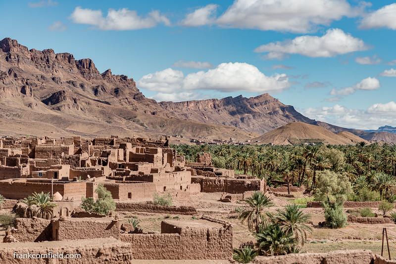 Ruins near Tamougalt, Morocco