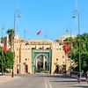 TAROUDANT, MOROCCO – NOVEMBER 02, 2015: Provincial government offices in Taroudant, Morocco.