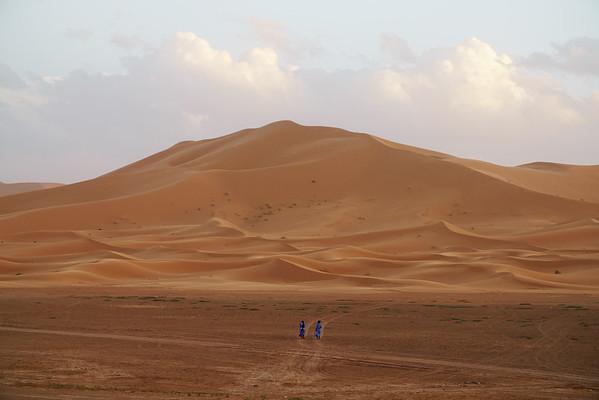 A Walk Across the Sand