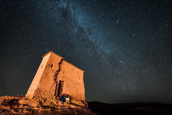 Night Shots at Ait Ben Haddou