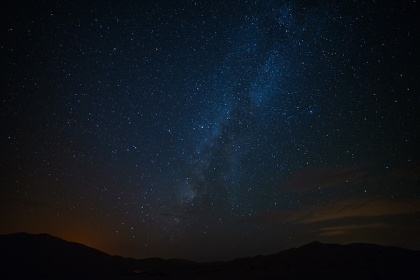 Sahara and the Milky Way