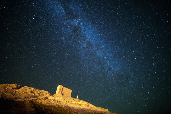 Milky Way from Ait Ben Haddou