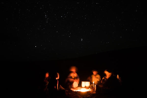 Bedouin Music under the Stars