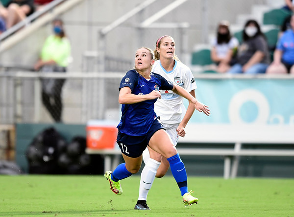 North Carolina Courage vs Chicago Red Stars 8/15/21 Sahlen's Stadium at WakeMed Soccer Park Cary, NC  Photographer: Gregory Ng from Follow Greg Sports Photography  SoccerPhotographer.com Instagram: FollowGregSports