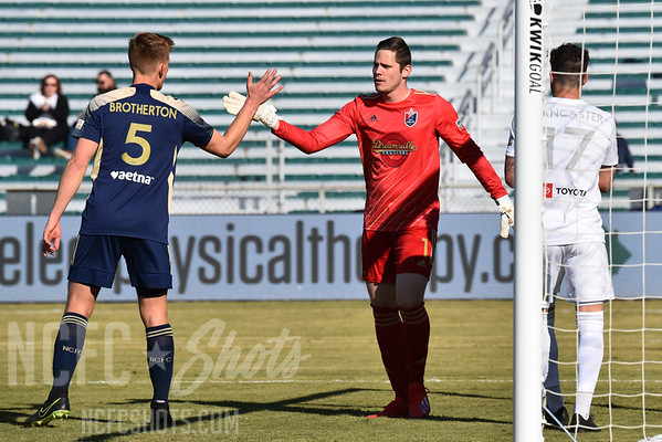 Alex Tambakis,  Goalkeeper and number 1 for North Carolina FC of the USL Championship League   Photography ©Gregory Ng for NCFCShots.com. Follow on instagram at @FollowGregSports.  This site is not affiliated with North Carolina Football Club