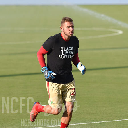 Paolo Pita,  Goalkeeper and number 24 for North Carolina FC of the USL Championship League   Photography ©Gregory Ng for NCFCShots.com. Follow on instagram at @FollowGregSports.  This site is not affiliated with North Carolina Football Club