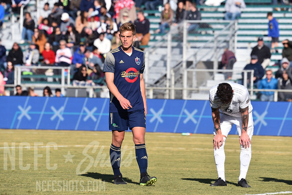 Sam Brotherton, Defender and number 5 for North Carolina FC of the USL Championship League   Photography ©Gregory Ng for NCFCShots.com. Follow on instagram at @FollowGregSports.  This site is not affiliated with North Carolina Football Club