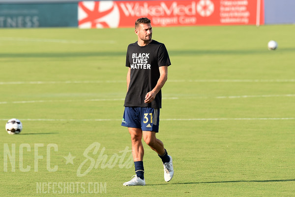 Steven Miller,  Midfielder  and number 31 for North Carolina FC of the USL Championship League   Photography ©Gregory Ng for NCFCShots.com. Follow on instagram at @FollowGregSports.  This site is not affiliated with North Carolina Football Club