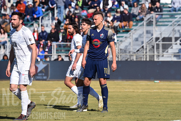 Robert Kristoh,  Forward and number 11 for North Carolina FC of the USL Championship League   Photography ©Gregory Ng for NCFCShots.com. Follow on instagram at @FollowGregSports.  This site is not affiliated with North Carolina Football Club
