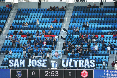 7/14/17 San Jose Earthquakes vs Eintracht Frankfurt