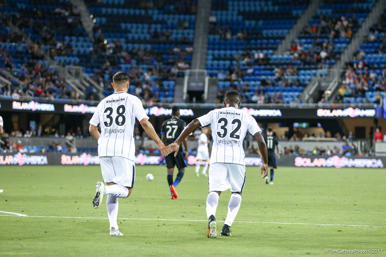 7/14/17 San Jose Earthquakes vs Eintracht Frankfurt
