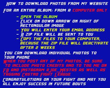 Dowload Instructions