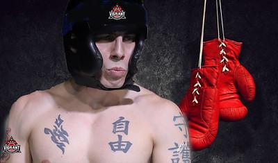 boxing backdrop
