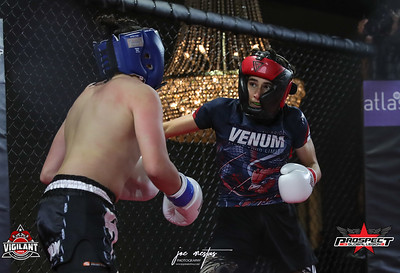 Xeric Karoutsos (5-4) ATT from Longwood (Kick Boxing)    vs Koda Sciuto (1-0, 4-0 MMA) from Legends Boxing (Kick Boxing)   Vigilant MMA LLC with Prospects by Global Legion FC presents Combat Quest 9 - Revenge at Banquet Masters on 8/14/2020  Photos by: Joe Mestas www.joemestas.com email: onthegulf@gmail.com