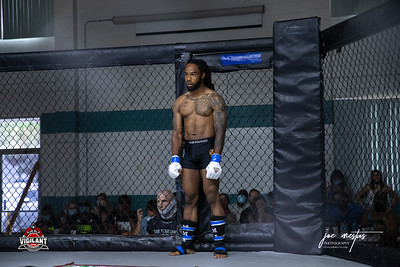 Brandon Holloway    $ecure Tha Bag at Largo's Minnreg Hall on July 11, 2020.  Combat Quest 8 featured 17  bouts consisting of boxing, San Shou Kickboxing, BJJ, CJJ & MMA. To include Title fights and defenses.  Brandon Lee of Vigilant MMA put on an excellent card. Seating was set appropriately for Social Distancing and everyone was required to wear masks.  Photos by: Joe Mestas www.joemestas.com Available for Promo, events, sports, and photo shoots