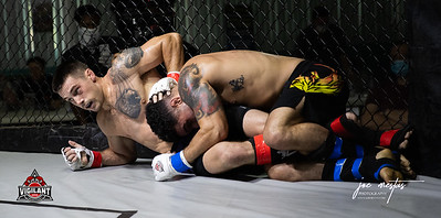 James Aguire  vs Scottie Whitaker (W)  $ecure Tha Bag at Largo's Minnreg Hall on July 11, 2020.  Combat Quest 8 featured 17  bouts consisting of boxing, San Shou Kickboxing, BJJ, CJJ & MMA. To include Title fights and defenses.  Brandon Lee of Vigilant MMA put on an excellent card. Seating was set appropriately for Social Distancing and everyone was required to wear masks.  Photos by: Joe Mestas www.joemestas.com Available for Promo, events, sports, and photo shoots