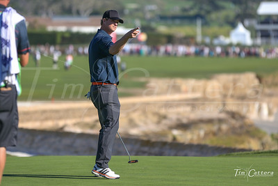 Matt Cain- 2015 AT&T Pro Am Golf tournament