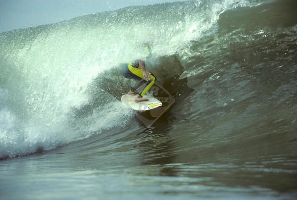 Surfing - La Jolla California - Deep Tube Ride