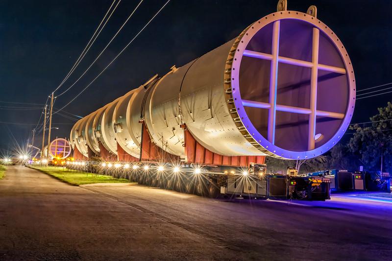Panalpina World Transport - Project Photographer - Methanol Column Transport