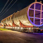 Panalpina World Transport - Project Photographer - Methanol Column Transport