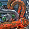 Assorted Lifting Shackles - Happy Diamond ship - Panprojects/Thyssen-Krupp Uhde Project - Port of Mobile, AL