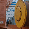 Deck 'pantoon' rollers - Happy Diamond ship - Panprojects/Thyssen-Krupp Uhde Project - Port of Mobile, AL