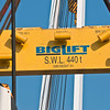 Lifting spreader bar - Happy Diamond Transport ship - Panprojects/Thyssen-Krupp Uhde Project - Port of Mobile, AL