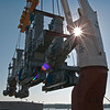 Panalpina World Transport - Project Photographer - Off Loading of Steel Mfg Equipment