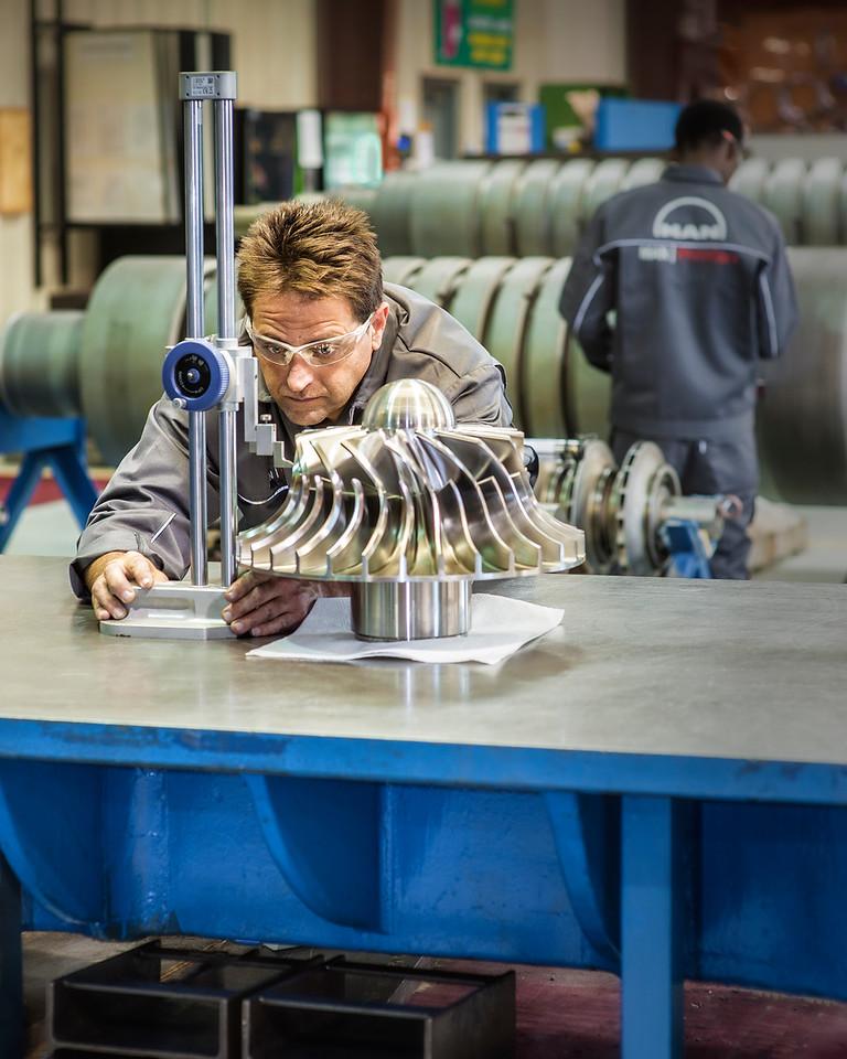 Gaging Turbine Machinery