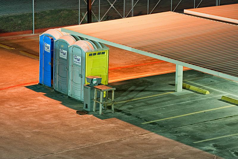 'Blue & Orange' - Construction Details - Parking Lot