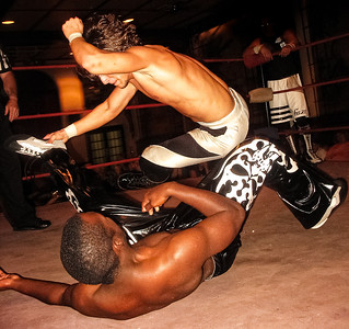 Adam Cole & Rich Swann Indy Wrestling Show