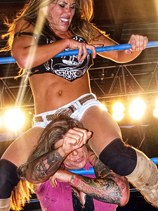 Mickie James & ODB TNA Impact Wrestling House Show