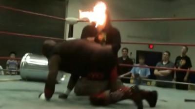 Dick Foley vs. Scrapyard Dog (Hardcore Rules Match) Part 1